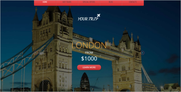 Hotel Website Theme Free Download