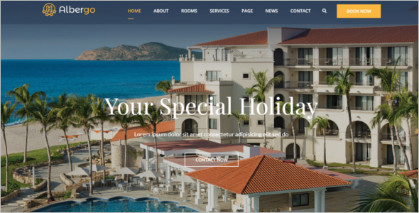 Hotel and Resort HTML5 Template