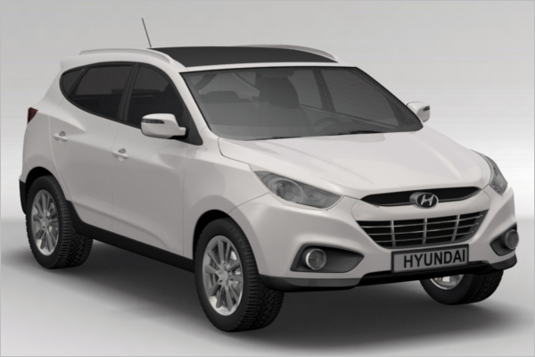 Hyundai 3D Car Model