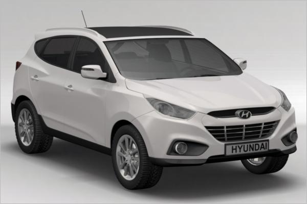Hyundai 3D Car Model