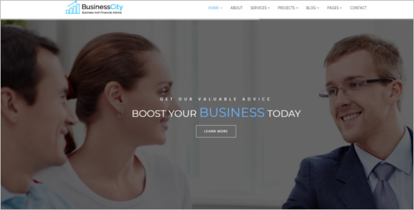 IT Company HTML5 Template