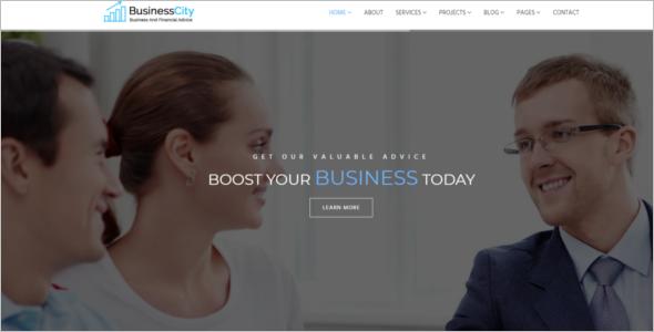 IT Company HTML5 Template
