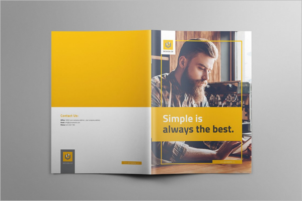InDesign A4 Brochure Template