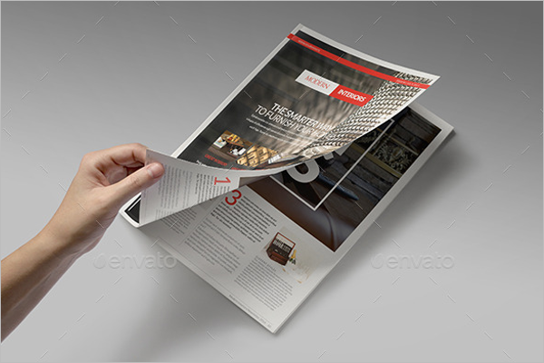 InDesign Newsletter Brochure Template