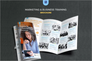 InDesign Training Brochure Template