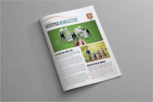 Indesign Brochure Newsletter Template