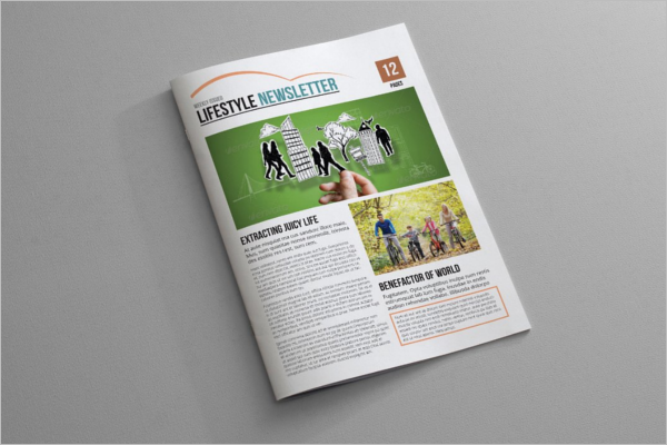 Indesign Brochure Newsletter Template