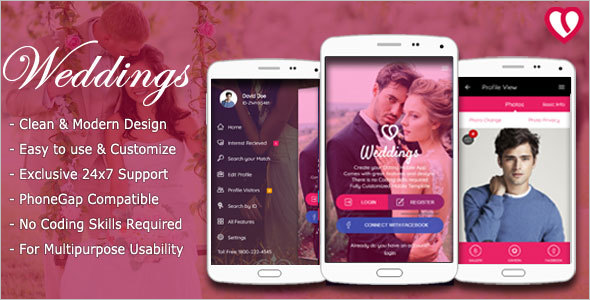 Indian Matrimonial Website Template