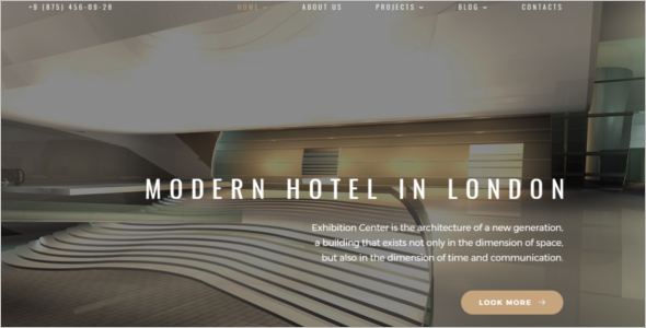 Interior Joomla Template