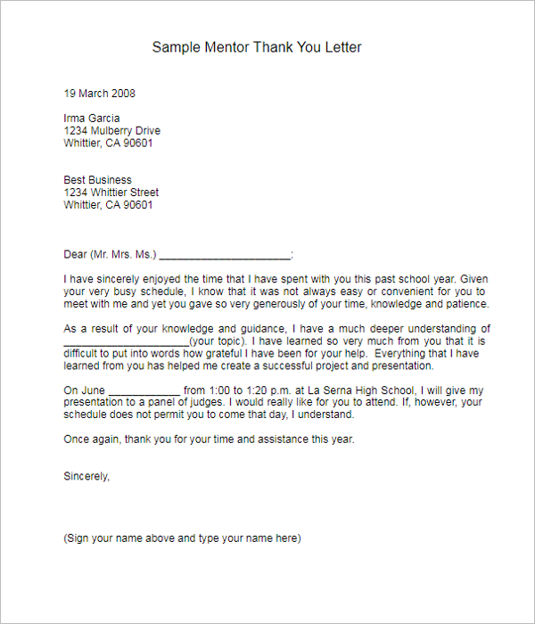 17 best interview thank you note templates free examples