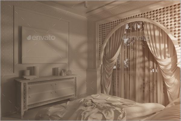 Islamic Style Besdroom Design