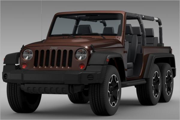 Jeep 3D Design