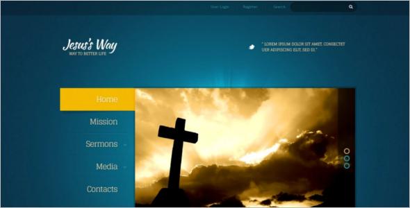 Jesus Church Joomla Template