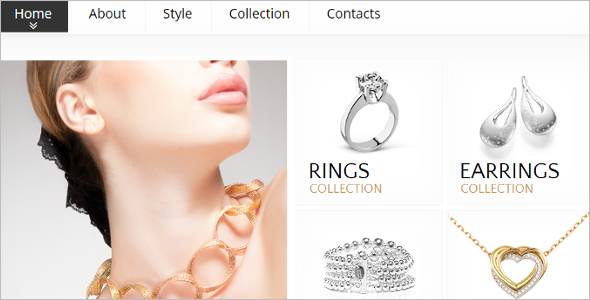 Jewelry Store HTML5 Template