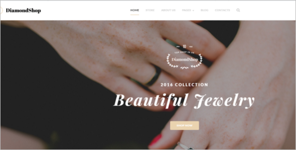 Jewelry Store Joomla Template