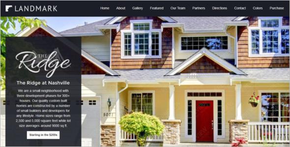 Joomla 3 Real Estate Template