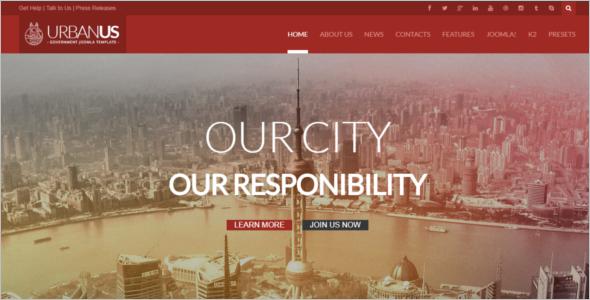 Joomla Agency Template
