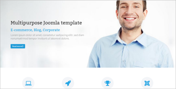 Joomla E-Commerce Template