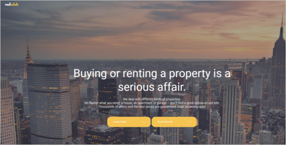 Joomla Real Estate Website Template