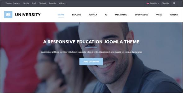 Joomla School Template