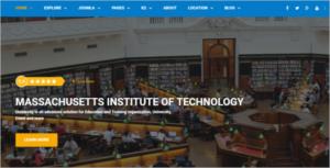 Joomla School Website Template
