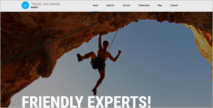 Joomla Travel Agency Template