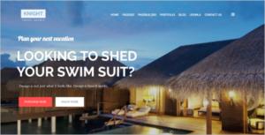 Joomla Travel Template