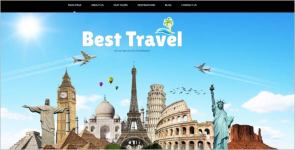 Joomla Travel Website Template