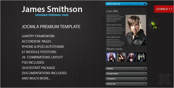 Joomla Website Template