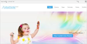 Kids School Joomla Template