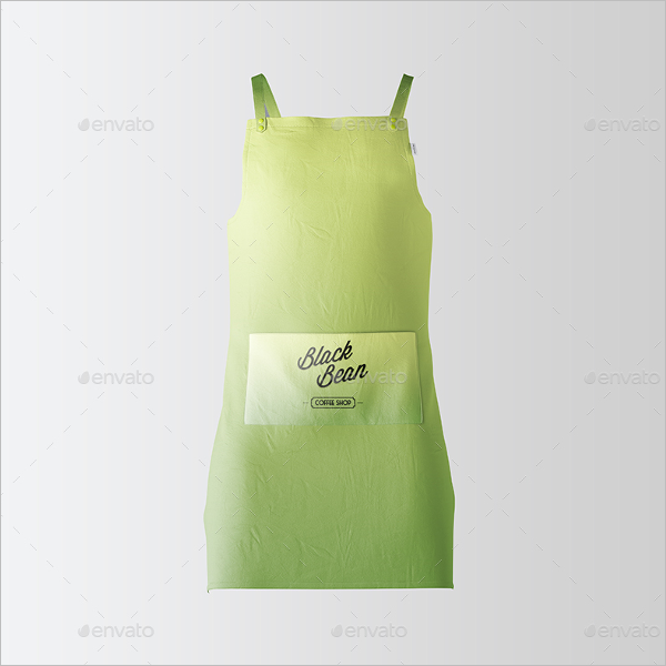 Kitchen Apron Mockup PSD