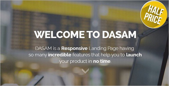 Landing Page HTML5 Templates