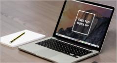 80+ Laptop Mockup Templates