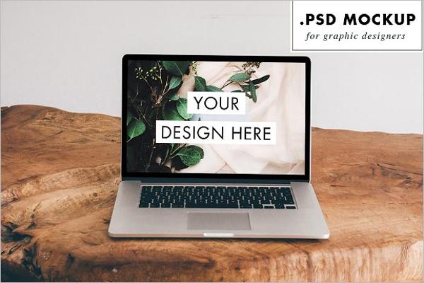80+ Realistic Laptop Mockups Free Vector Designs