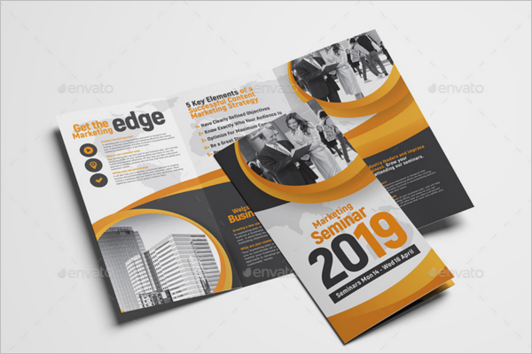 Latest A4 Size Brochure Template