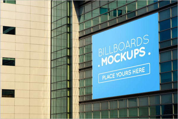 Latest Outdoor Mockup Template