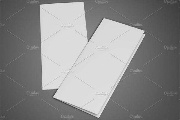 Leaflet Blank Design Template