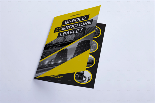 Leaflet Brochure Design Template