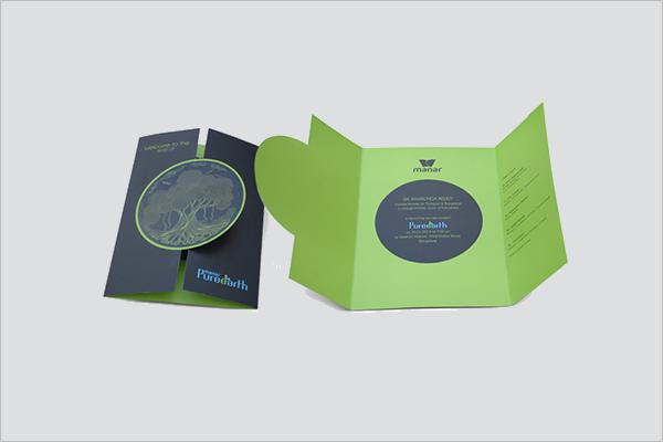 Leaflet Design Sample