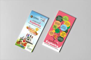Leaflet Design Template Free PSD