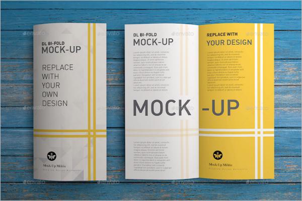Leaflet Mockup Design