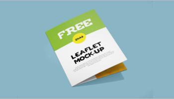 Leaflet Mockup Templates