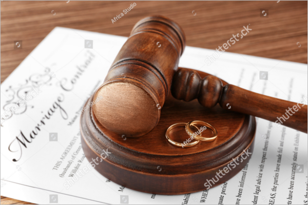 Legal Marriage Contract Sample