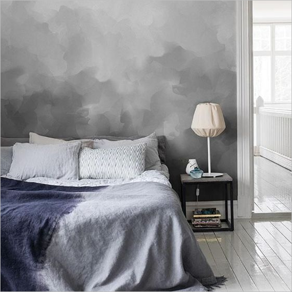 Light Grey Texture Design For Bedroom