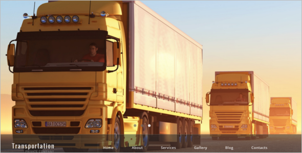 Logistics Agency HTML5 Template