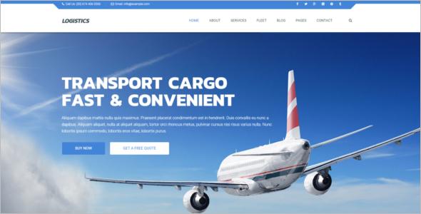Logistics Joomla Template