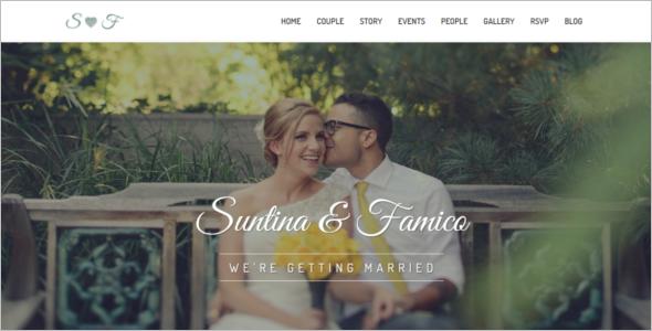 Lovely Wedding HTML5 Template