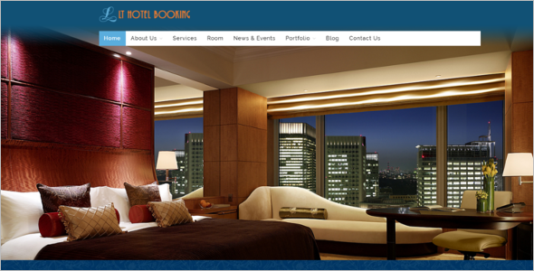 Luxurious Joomla Template