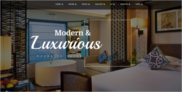 Luxury Hotel Joomla Template