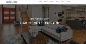 Luxury Hotel Website Template